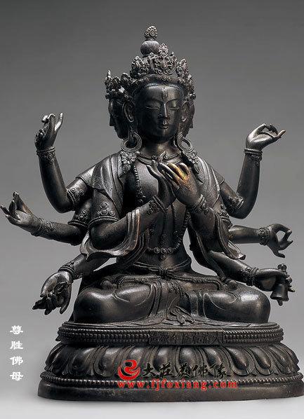 脱胎尊胜佛母塑像